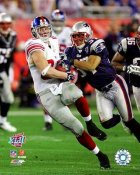 Kevin Boss Super Bowl 42 Giants 8X10 Photo