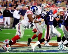 Justin Tuck Super Bowl 42 Giants LIMITED STOCK 8X10 Photo