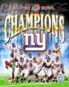 Giants 2008 Super Bowl 42 Composite Team 8X10 Photo