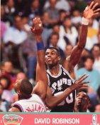 David Robinson 1991 Glossy Card Stock San Antonio Spurs 8X10 Photo LIMITED STOCK