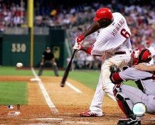 Ryan Howard LIMITED STOCK 100th Home Run 2007 8X10 Photo