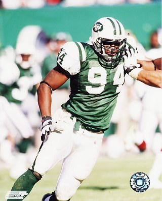 John Abraham New York Jets 8X10 Photo