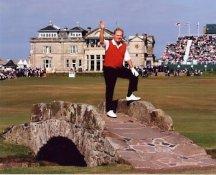 Jack Nicklaus Red Vest British Open 8X10 Photo