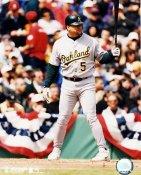 John Jaha #5 Oakland Athletics 8X10 Photo