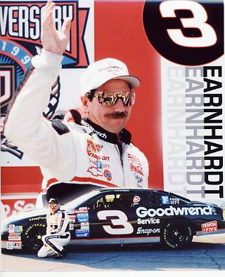 Dale Earnhardt Sr. 8X10 Photo