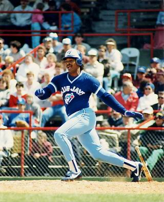 George Bell Toronto Blue Jays 8X10 Photo