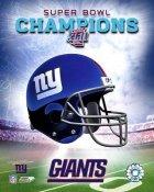 Giants A Team Helmet Photo Super Bowl XLII LIMITED STOCK 8X10 Photo