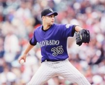 Taylor Buchholz Colorado Rockies 8X10 Photo