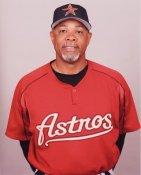 Cecil Cooper Coach Houston Astros 8X10 Photo