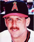 Mike Witt Anaheim Angels 8X10 Photo