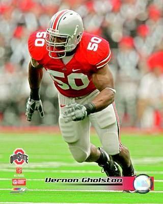 Vernon Gholston OSU Ohio State 8X10 Photo