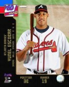 Yunel Escobar 2008 Braves Studio 8X10 Photo