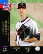 Tim Hudson LIMITED STOCK 2008 Braves Studio 8X10 Photo