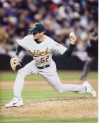 Jay Marshall Oakland Athletics 8X10 Photo