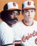 Eddie Murray & Cal Ripken Baltimore Orioles 8X10 Photo
