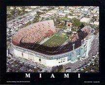 A1 Orange Bowl Aerial Miami 8x10 Photo