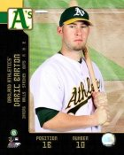 Daric Barton 2008 Studio LIMITED STOCK Oakland A's 8X10 Photo