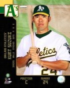 Kurt Suzuki 2008 LIMITED STOCK Studio Oakland A's 8X10 Photo