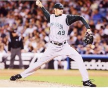 Jason Hammel Tampa Bay Devil Rays 8X10 Photo