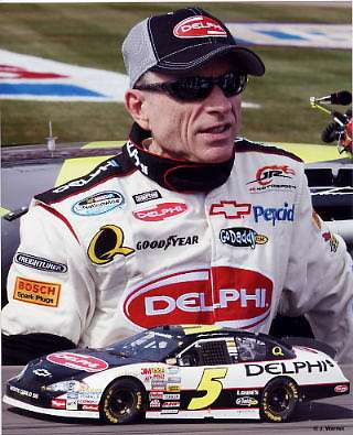 Mark Martin 2008 Composite 8X10 Photo