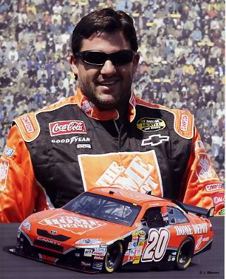 Tony Stewart 2008 Composite 8X10 Photo