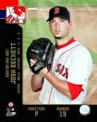 Josh Beckett 2008 Studio LIMITED STOCK Red Sox 8X10 Photo