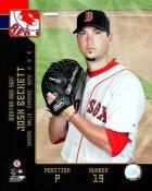 Josh Beckett 2008 Studio LIMITED STOCK Red Sox 8X10 Photo
