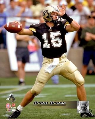 Drew Brees Purdue Boilermakers 8X10 Photo