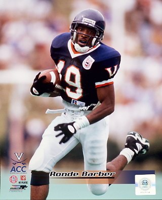 Ronde Barber LIMITED STOCK Virginia Cavs 8X10 Photo