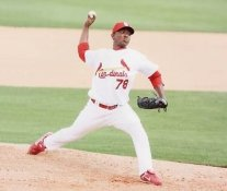 Kelvin Jimenez St. Louis Cardinals 8X10 Photo