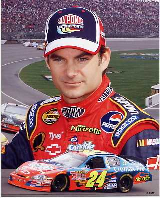 Jeff Gordon 2007 Composite 8x10 Photo