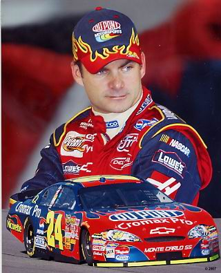 Jeff Gordon 2007 Composite 8x10 Photo LIMITED STOCK