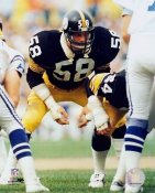 Jack Lambert Pittsburgh Steelers SATIN 8x10 Photo LIMITED STOCK