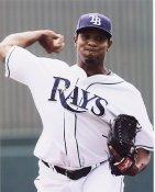 Edwin Jackson Tampa Bay Devil Rays 8X10 Photo