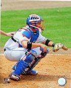 Brian Schneider LIMITED STOCK New York Mets 8X10 Photo