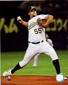 Joe Blanton LIMITED STOCK Oakland Athletics 8X10 Photo