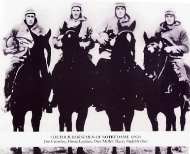 The Four Horsemen Notre Dame 8X10 Photo