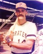 Art Howe Pittsburgh Pirates 8X10 Photo