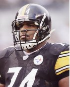 Willie Colon Pittsburgh Steelers 8x10 Photo