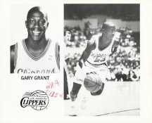 Gary Grant Team Issue Photo 8x10 Clippers