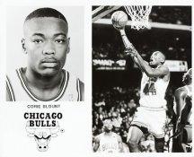 Corie Blount Bulls Team Issue Photo 8x10