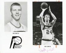 Rik Smits Pacers Team Issue Photo 8x10