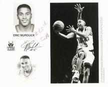 Eric Murdock Bucks Team Issue Photo 8x10
