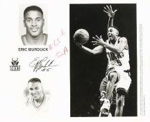 Eric Murdock Bucks Team Issue Photo 8x10