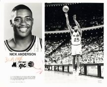 Nick Anderson Magic Team Issue Photo 8x10