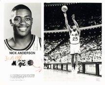 Nick Anderson Magic Team Issue Photo 8x10