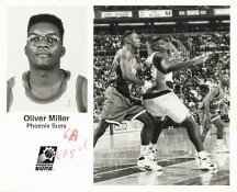 Oliver Miller Suns Team Issue Photo 8x10
