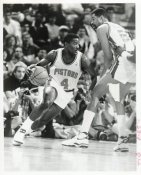 Joe Dumars Pistons Team Issue Photo 8x10