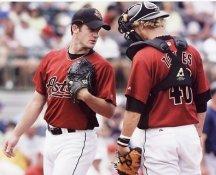 Roy Oswalt & JR Towles Houston Astros 8X10 Photo