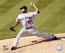 Johan Santana NY Mets 8X10 Photo